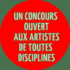 Un concours ouvert aux artisites de toutes les disciplines